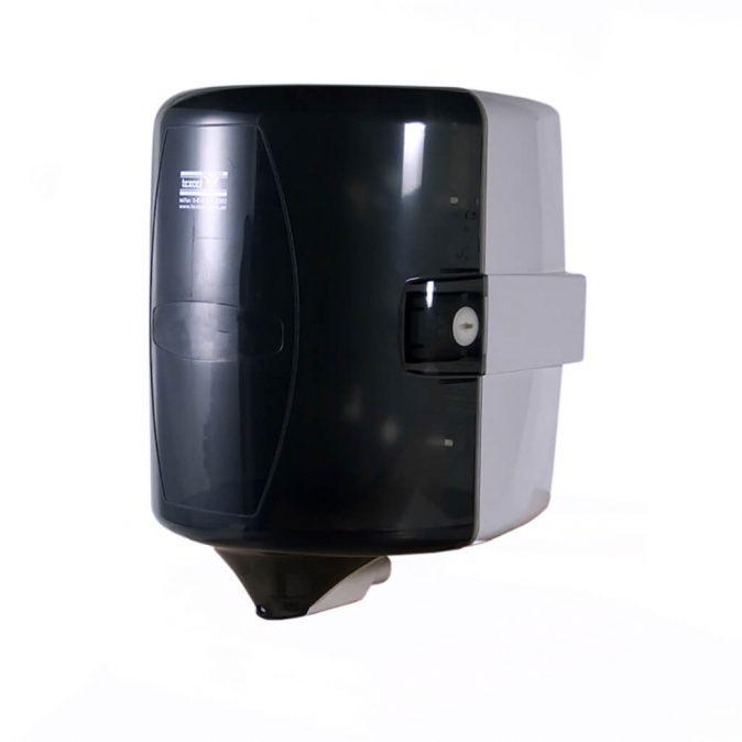 Dispenser bobina center pull