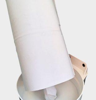 Bobina de papel para fluido céntrico | TEXCEL