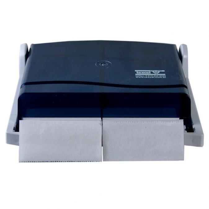 Dispenser papel higienico intercalado doble salida Texcel
