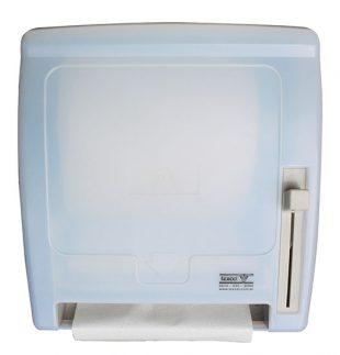 Dispenser de toalla en rollo o bobina con autocorte de perilla | Texcel