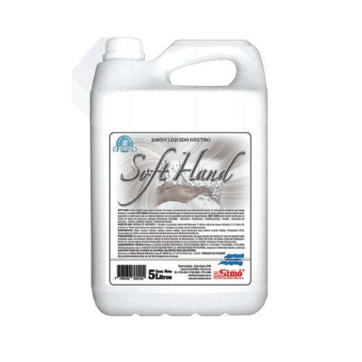 Jabón líquido para manos soft hand   TEXCEL