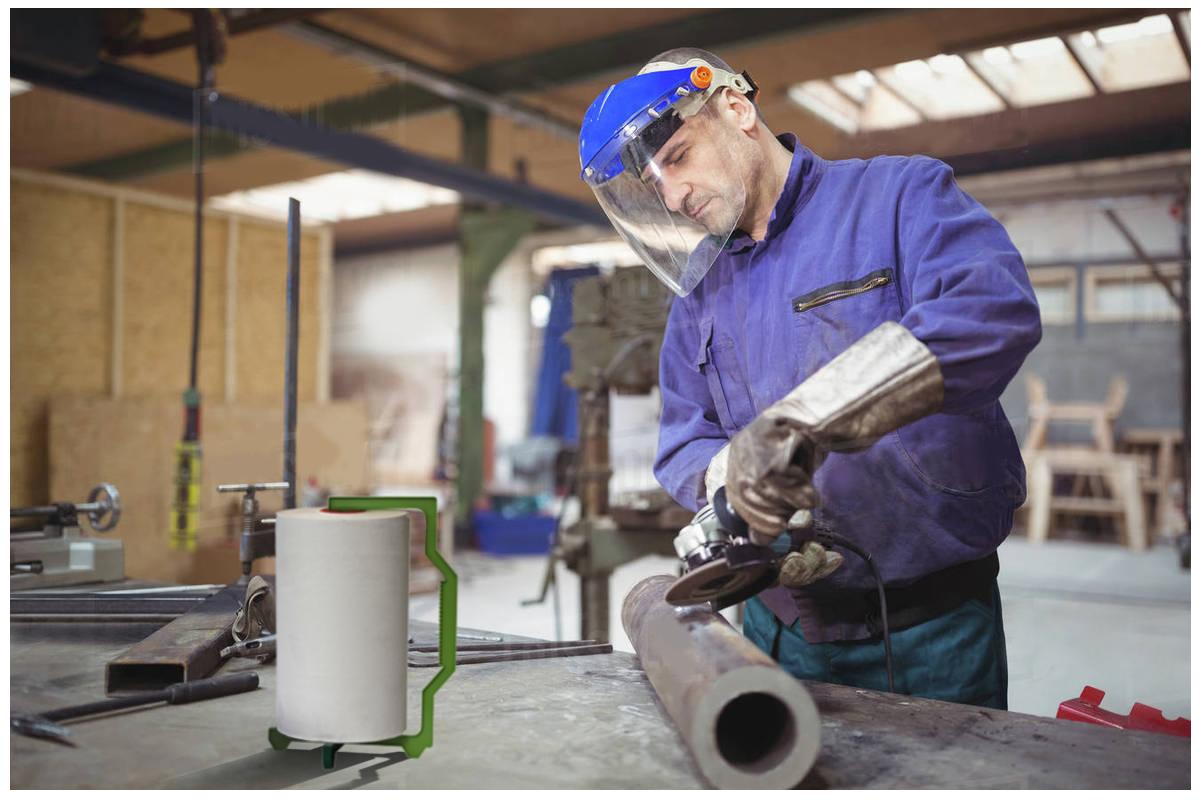 Bobinas de Papel en Metalúrgicas | Productos de Limpieza | TEXCEL