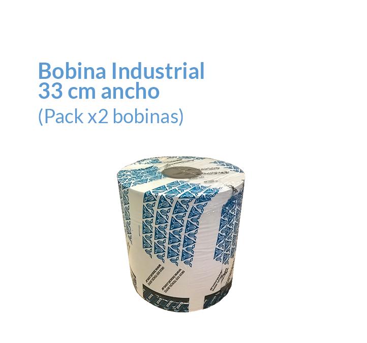 Bobina de papel de 33 cm Color Blanco Doble hoja | Productos de Limpieza | TEXCEL