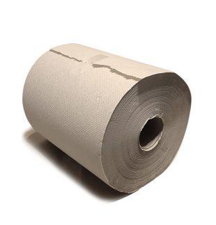 Bobina de papel gofrada color beige | TEXCEL