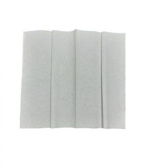 toallas de papel intercalada color blanco.
