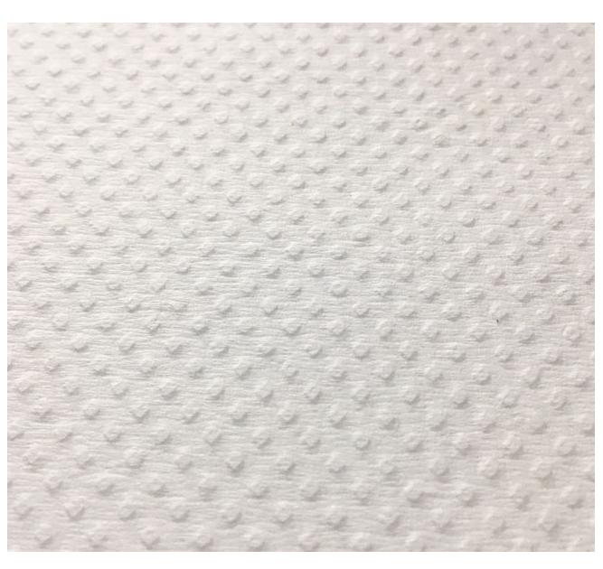 Textura de Papel Toalla Intercalada Blanco Gofrada | Productos de Limpieza | TEXCEL