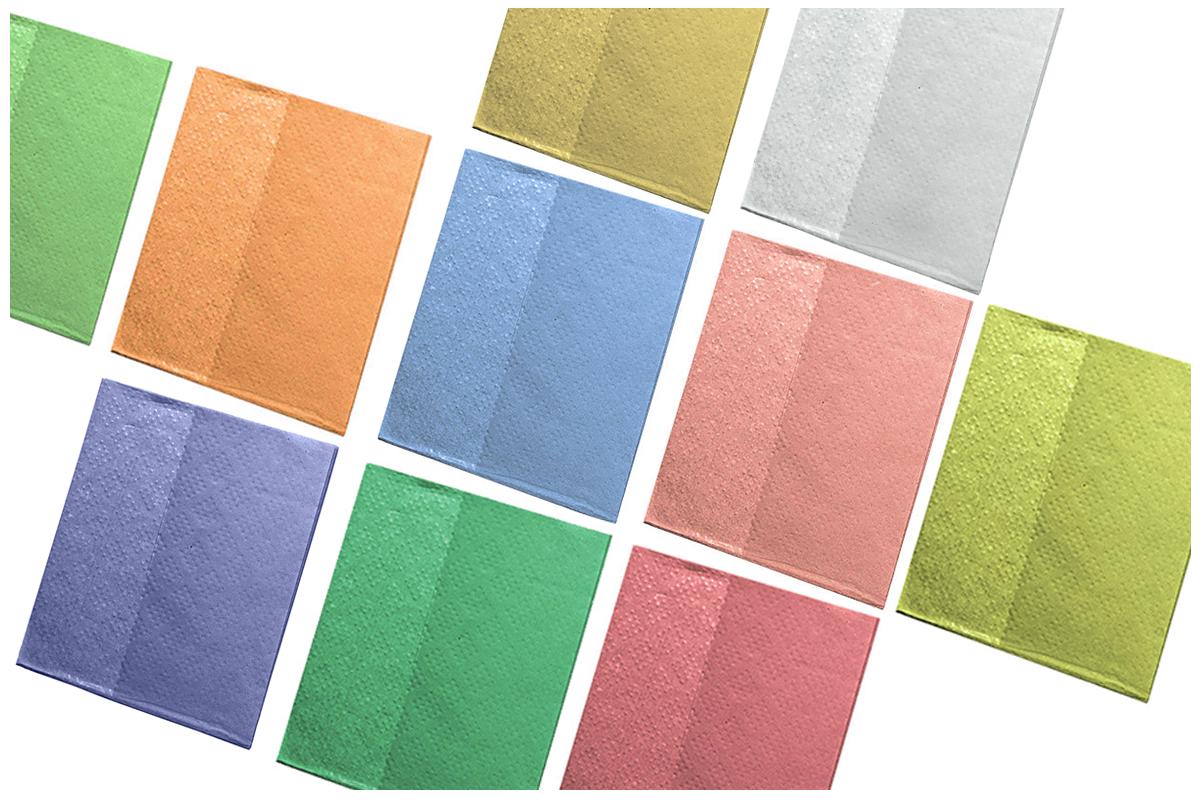 Compresas odontológicas de diferentes colores | Texcel
