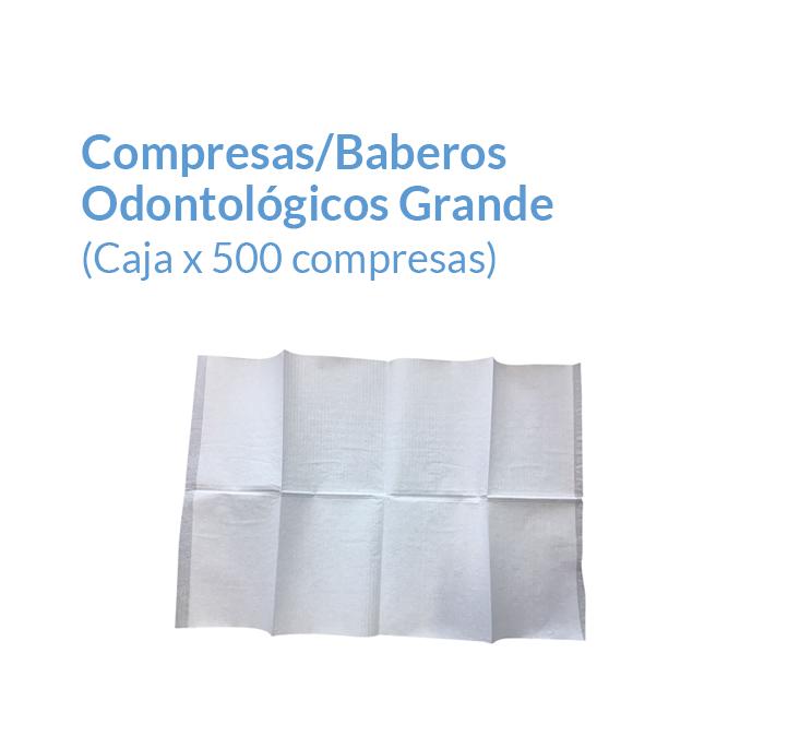 Compresas 33x48 Color blanco | Texcel